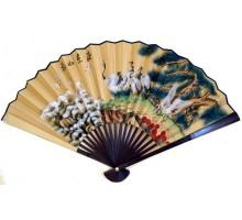 Веер классический китайский настенный