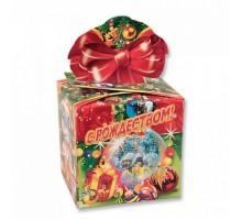 Коробка-трансформер «Подарок с бантом»