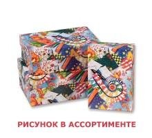 Набор коробок Детские Прямоугольные 3шт