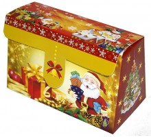 "Коробка-трансформер на липучке ""Дед Мороз"""