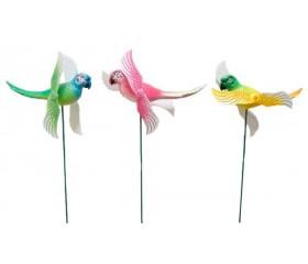 Украшение садовое «Попугай»