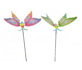 Украшение садовое «Бабочка» на штекере