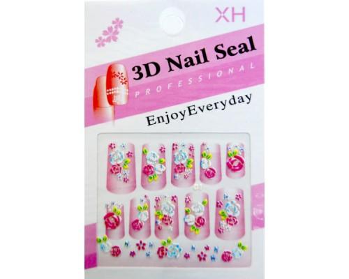 Наклейка на ногти 3D