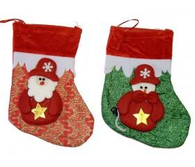 Носок для подарков 23х16см «Новогодний»