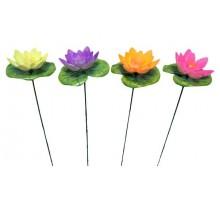 Украшение садовое «Кувшинка» на штекере