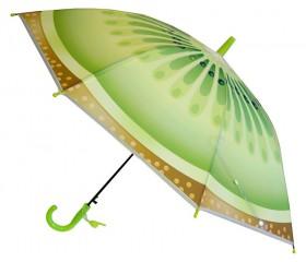 Зонтик детский полуавтомат со свистком «Фрукты» D=85 см/1