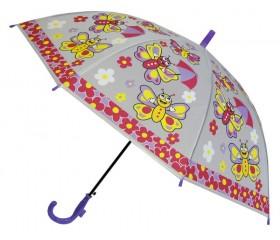Зонтик детский полуавтомат со свистком  D=82 см