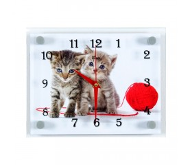 Часы настенные «Котята»