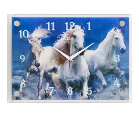 Часы настенные 3D «21 Bek»