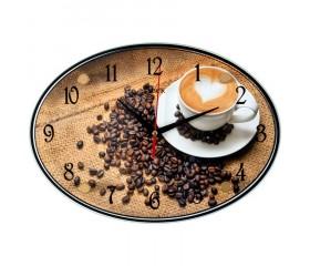 Часы настенные «Кофе»
