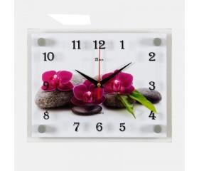 Часы настенные «3 цветка»