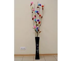 Ветви 1,6м «Розы с блестками»