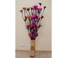 Цветы тюлевые «Гибискус»