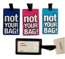 Бирка на сумку и рюкзак