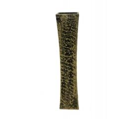 Ваза деревянная для сухоцветов 4-угольная